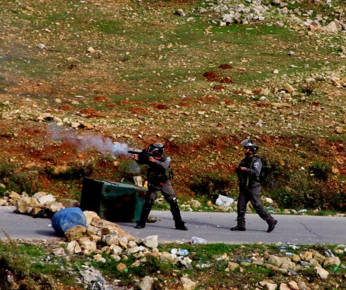 IOF firing - TAmimi press