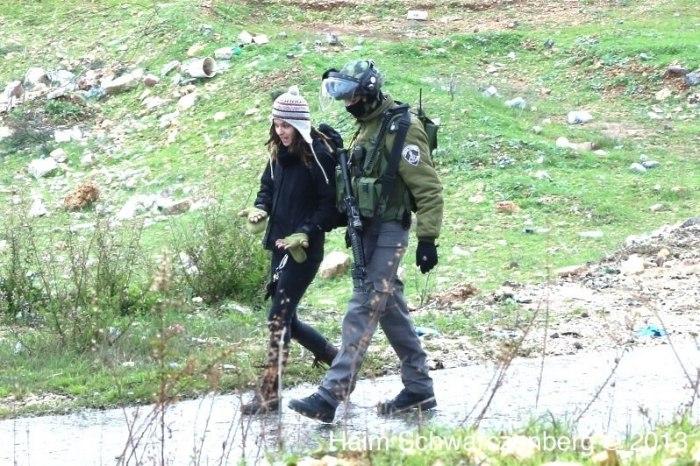 israeli activists arrested - Haim Schwarczenberg