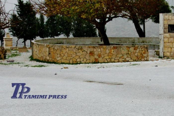 snowing 9 jan 2013