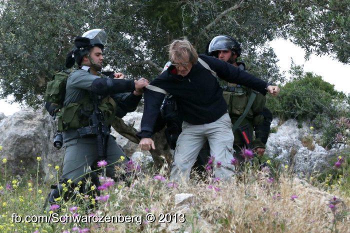 israeli activist iof haim schw