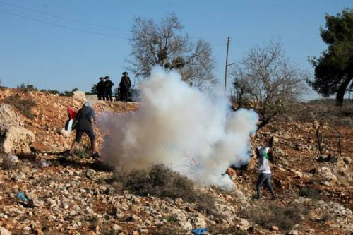 women teargas