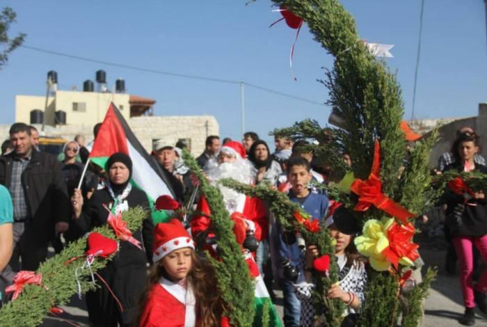 xmas in nabi saleh