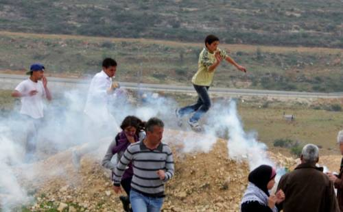 teargas - bassem and kids - pscc