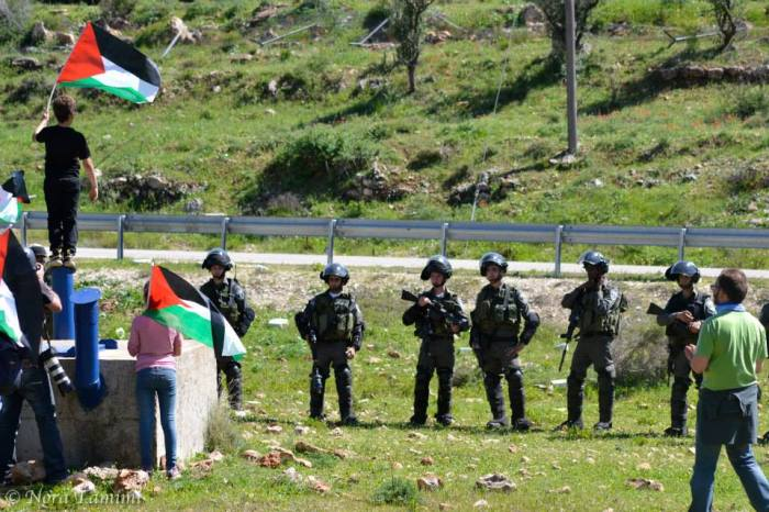 tamimi - iof and protestors