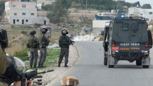 iof on road teargas tp